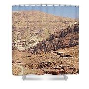 Desert Of Wadi Musa Shower Curtain