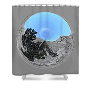 Desert Orb 2 Shower Curtain