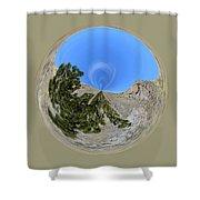 Desert Orb  Shower Curtain