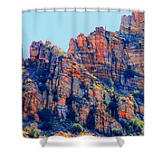 Desert Paint Shower Curtain