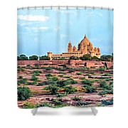 Desert Palace Shower Curtain