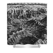Desert Panorama Shower Curtain