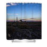 Desert Plant Shower Curtain