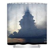 Desert Rainstorm Shower Curtain