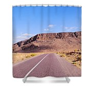 Desert Road In Morocco Shower Curtain