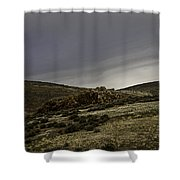 Desert Rocks Shower Curtain