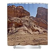 Desert Ship Shower Curtain