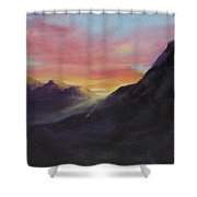 Easter Sunrise Shower Curtain