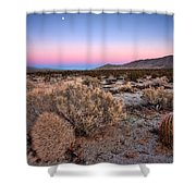 Desert Twilight Shower Curtain