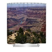 Desert View Grand Canyon Shower Curtain