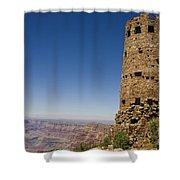 Desert View Watchtower Grand Canyon National Park Arizona Shower Curtain
