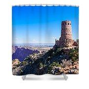 Desert View Watchtower Overlook Shower Curtain