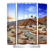 Desert Vista Large Shower Curtain