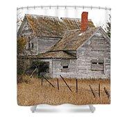 Deserted House Shower Curtain
