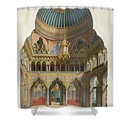 Design For The Entrance Hall Shower Curtain