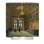 Design For The Grand Reception Room Shower Curtain
