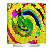 Designer Phone Case Art Colorful Rich Bold Abstracts Cell Phone Covers Carole Spandau Cbs Art 139  Shower Curtain