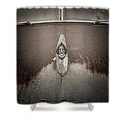 Desoto Hoodie Shower Curtain