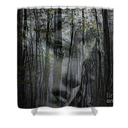 Destination Uncertain Shower Curtain