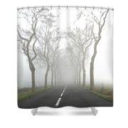 Destination Unknown Shower Curtain