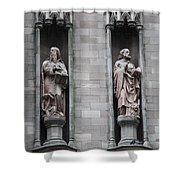 Detail First Trinity Church Shower Curtain