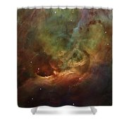 Details Of Orion Nebula Shower Curtain