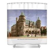 Detroit - The Museum Of Art - Jefferson Avenue At Hastings Street - 1905 Shower Curtain