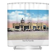 Detroit - City Airport - 1944 Shower Curtain