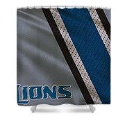 Detroit Lions Uniform Shower Curtain