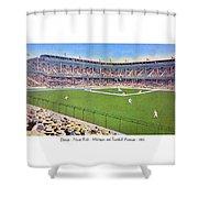 Detroit - Navin Field - 1922 Shower Curtain