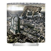 Detroit Shower Curtain