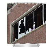 Detroit Packard Shower Curtain