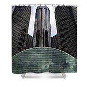 Detroit Renaissance Shower Curtain