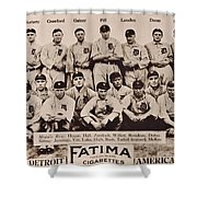 Detroit Tigers 1913 Shower Curtain