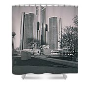 Detroit2 Shower Curtain