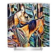 Deuce On Call Two Shower Curtain