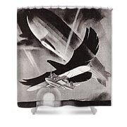 Deutsche Luftpost Shower Curtain