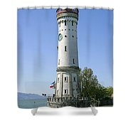 Deutschland, Bayern, Lindau Am Shower Curtain by Tips Images