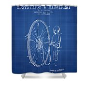 Device For Teaching Obstetrics And Midwifery Patent From 1951 - Bl Shower Curtain