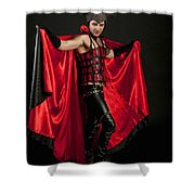 Devil 1 Shower Curtain