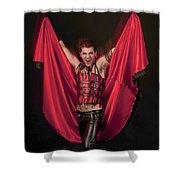 Devil 3 Shower Curtain