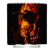 Devil Within Shower Curtain
