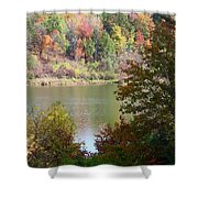 Devils Bathtub Shower Curtain