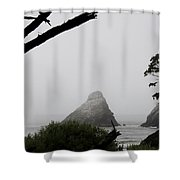 Devils Elbow Bay View Shower Curtain