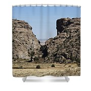 Devil's Gate - Wyoming Shower Curtain