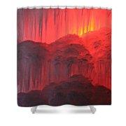 Devil's Hideout Shower Curtain
