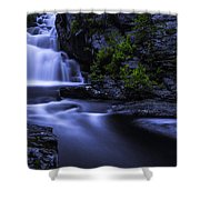 Devil's Hopyard Waterfall Shower Curtain
