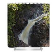 Devils Kettle Falls 3 Shower Curtain