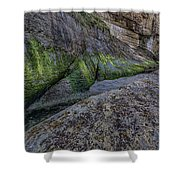 Devil's Punchbowl Trail Shower Curtain