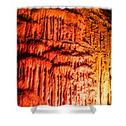 Devils Stalactite Shower Curtain